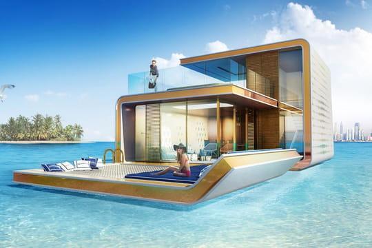 Insolite : habitez une villa flottante à Dubaï