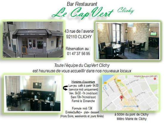 , Restaurant : Le Cap Vert  - Changement d adresse -   © Lisaline777@gmail.com