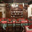 Restaurant : Au Lion d'Or  - La salle à l'étage -