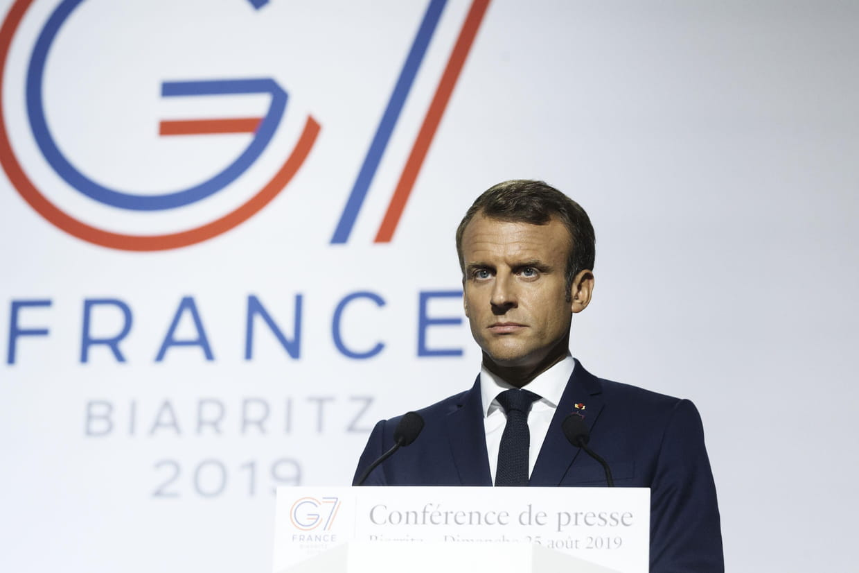 """Résultat de recherche d'images pour """"macron g7 biarritz 2019"""""""