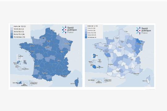 Variant du Covid en France: environ 80% de variant anglais, la carte de la propagation