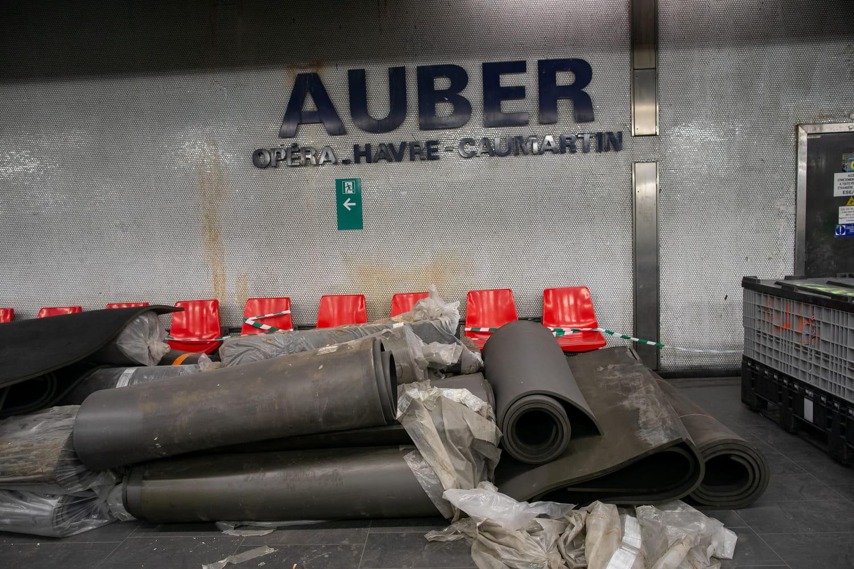 RER A: plus de couloirs de correspondance entre Auber et Opéra