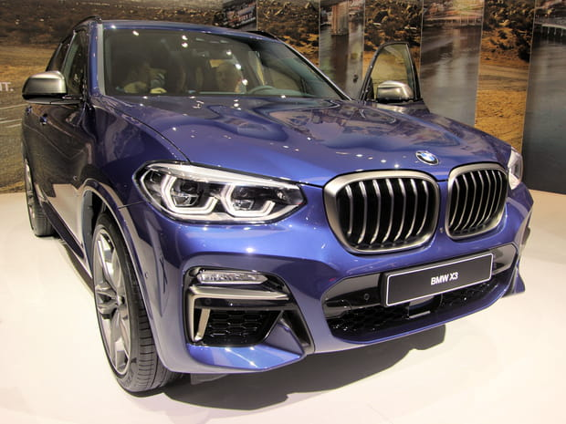 Les photos du nouveau BMW X3