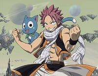 Fairy Tail : Natsu contre Luxus ! Le duel des enragés