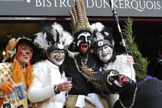 Carnaval de Dunkerque2019: les trois joyeuses ont débuté