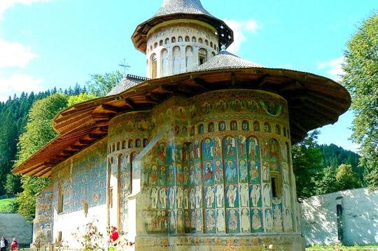 Le Monastère de Sucevita en Roumanie