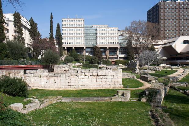 Le jardin des vestiges marseille for Le jardin marseille