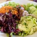 Délices Park  - Salade végétariene -   © Délices Park