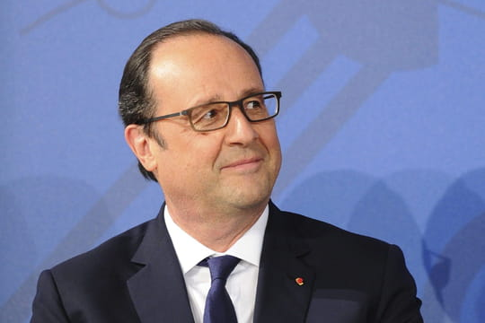 """Hollande chez Drucker: """"Ma liberté de parole? Pas encore"""""""
