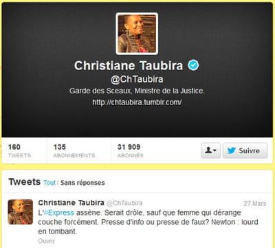 taubira twitter