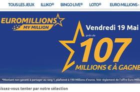Résultat Euromillion 19mai 2017: ce tirage a-t-il donné un grand gagnant?
