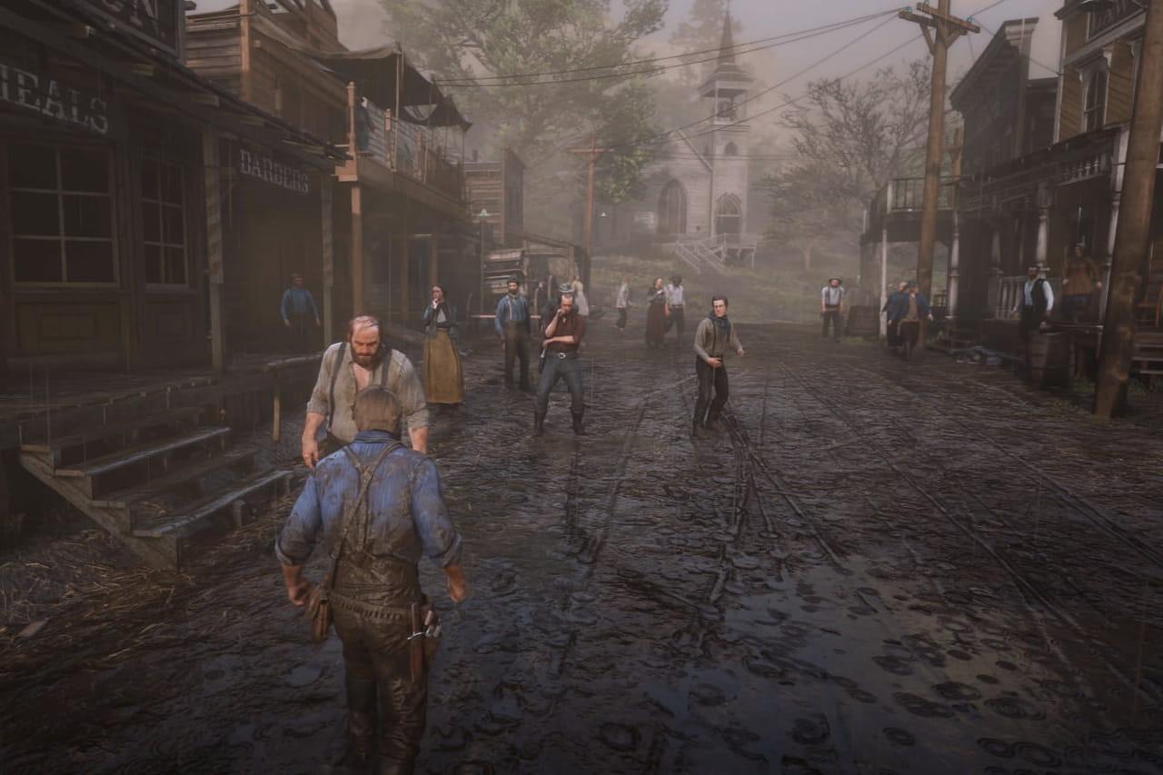 Red Dead Redemption 2: le mode Red Dead Online déjà disponible?