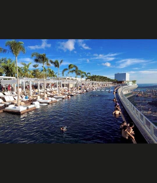 Marina Bay Sand: un hôtel dans leciel