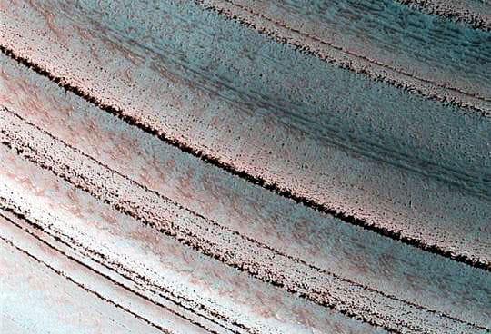 Histoire climatique de Mars