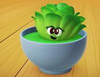 A table les enfants : La salade