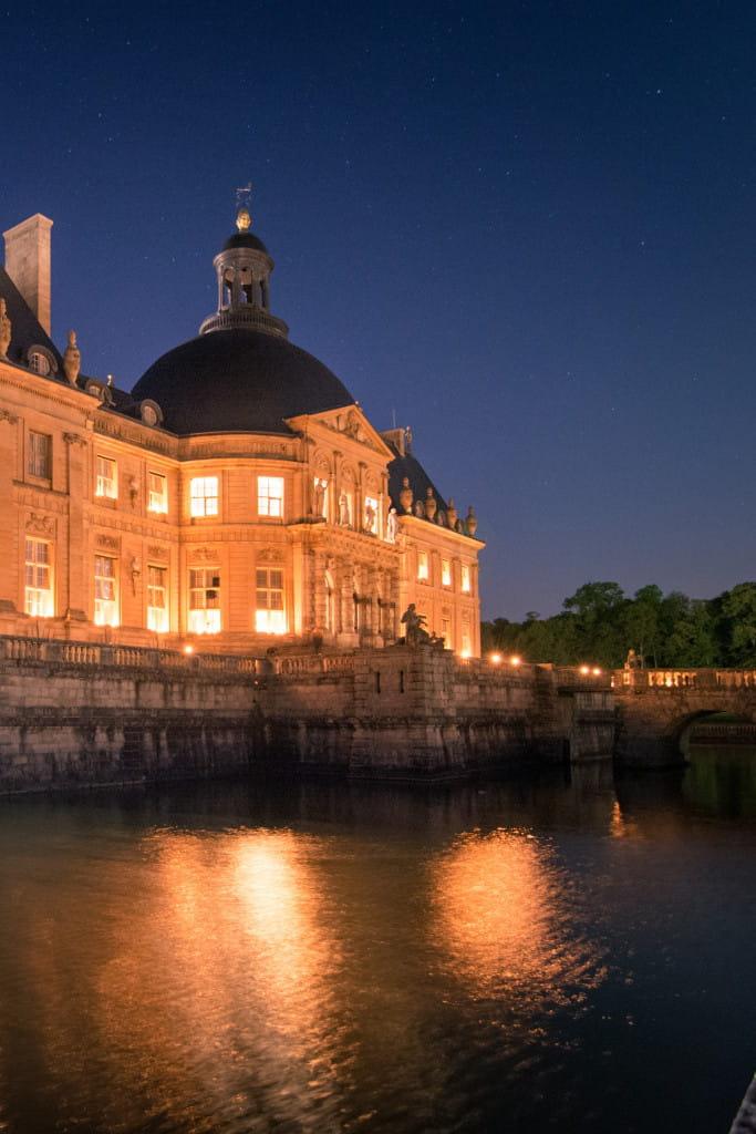 Coloriage Chateau Vaux Le Vicomte.Vaux Le Vicomte Aux Chandelles