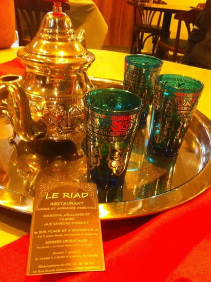 Le Riad  - LE RIAD QUIMPER COUSCOUS TAJINES GRILLADES SUR PLACE ET A EMPORTER -   © LE RIAD QUIMPER