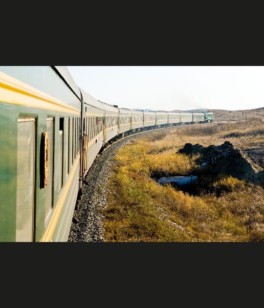 Voyage le long du Transsibérien