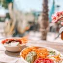 Plat : Healthy Café  - Poke bowl au saumon à emporter -   © Healthy café