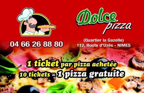 Dolce Pizza  - Promotion -   © Dolce Pizza
