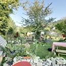 La Capucine Giverny, Café-Boutique  - La Capucine Giverny, côté Jardin -   © La Capucine Giverny