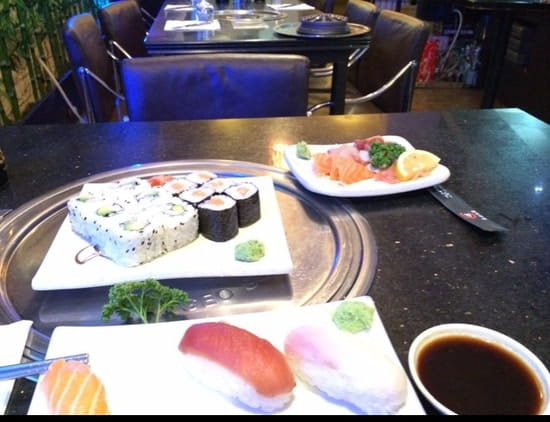 Plat : Sushi Séoul