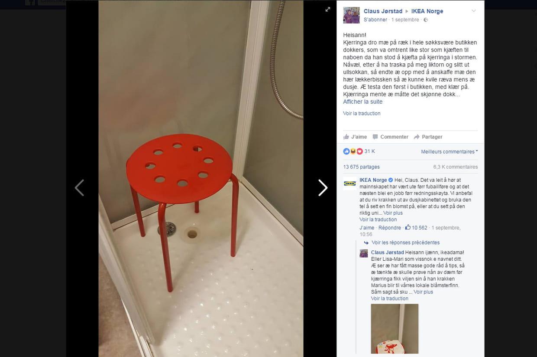 Il se coince un testicule dans un tabouret Ikea... L ...