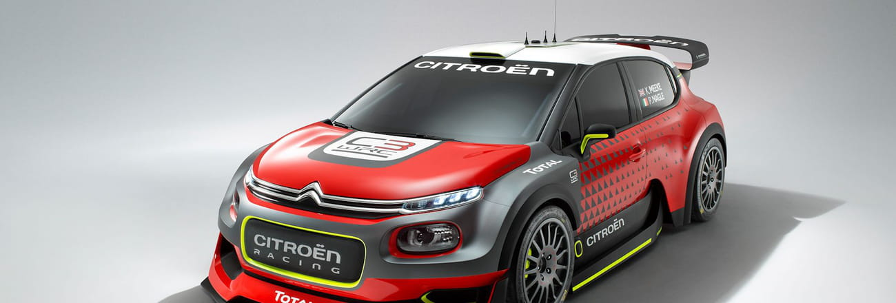 La Citroën Concept C3WRCen images