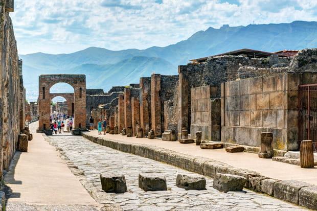 la ville antique de pomp u00e9i en italie