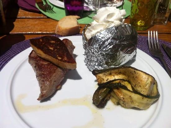 Plat : La Maisons des Saveurs  - Pièce du boucher Rossini -