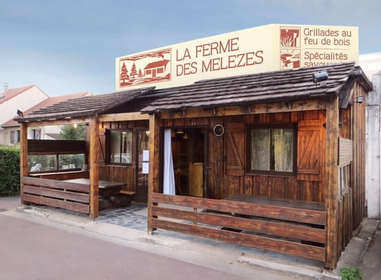 La Ferme Des Mélèzes  - Façade du restaurant -   © La Ferme Des Mélèzes
