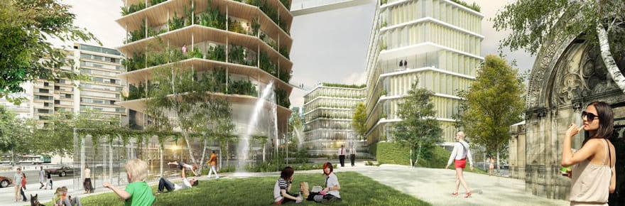 Réinventer Paris: 22projets futuristes pour la capitale en images