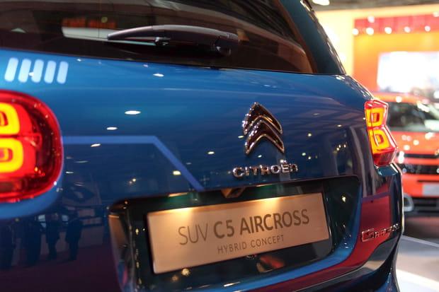 Le C5Aircross hybride, une conséquence du WLTP?