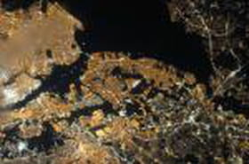 Des lumières terrestres par milliers visibles depuis l'ISS