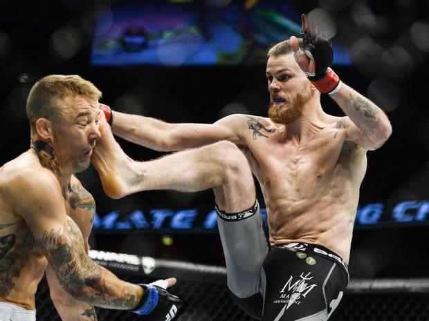MMA : les photos choc des combats d'art martial