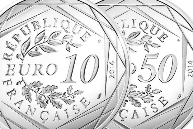 Monnaie de Paris: le millésime 2014des pièces en argent et or dessiné par Sempé
