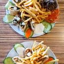 Plat : Mixette  - Assiette shawarma poulet et viande 100% bœuf -   © Assiette Damas et Alepo