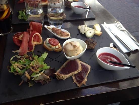 Plat : L'Endroit Resto  - Tapas de l'entrée au dessert -