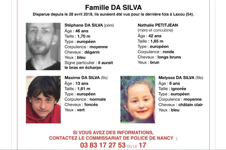 Disparition de la famille Da Sila: ce que l'on sait
