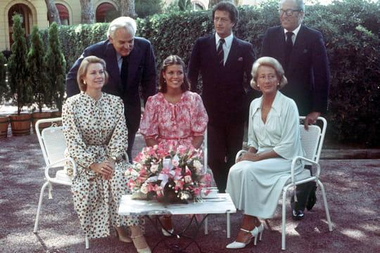 1978: Caroline de Monaco et Philippe Junot