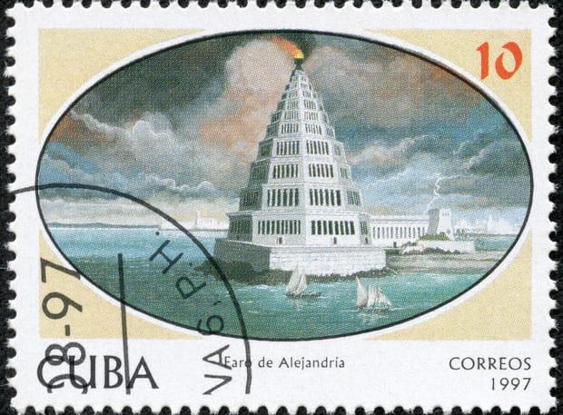 Le Phare d'Alexandrie (Merveille du monde antique)