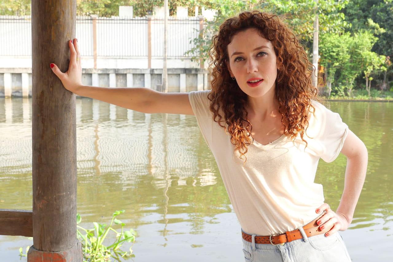 Coup de foudre à Bangkok: qui est Blandine Bellavoir, lhéroïne du téléfilm TF1?