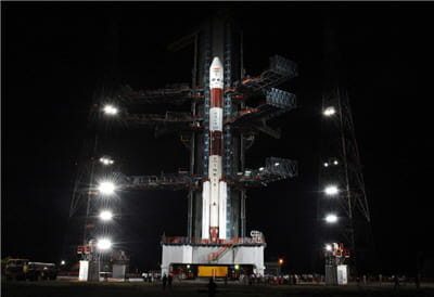 l'inde a lancé sa sonde chandrayaan-1 qui doit atteindre l'orbite lunaire.