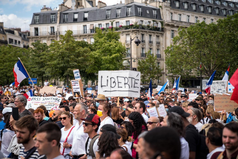 Manifestations pass sanitaire: des débordements? Quelles manifestations prévues samedi 31juillet?