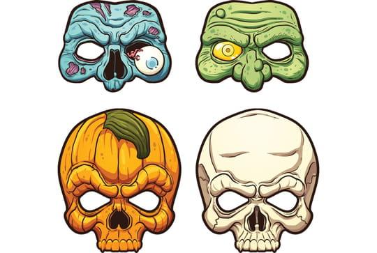 Masque d'Halloween: idées de créations et conseils pour Halloween