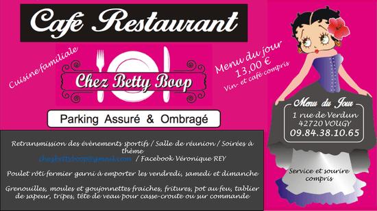 , Restaurant : Chez Betty Boop  - CAF2 RESTAURANT CHEZ BETTY BOOP -   © FRANCE