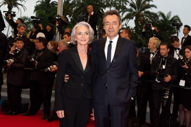 Michel Denisot et Martine