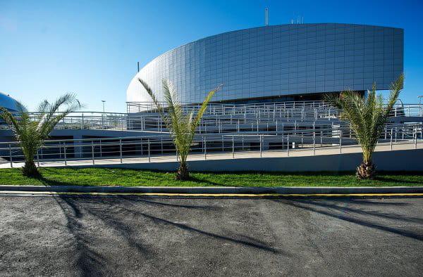 Le centre de curling Ice Cube