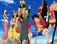 One Piece : Les époux et leurs masques. Sanji et Pudding !
