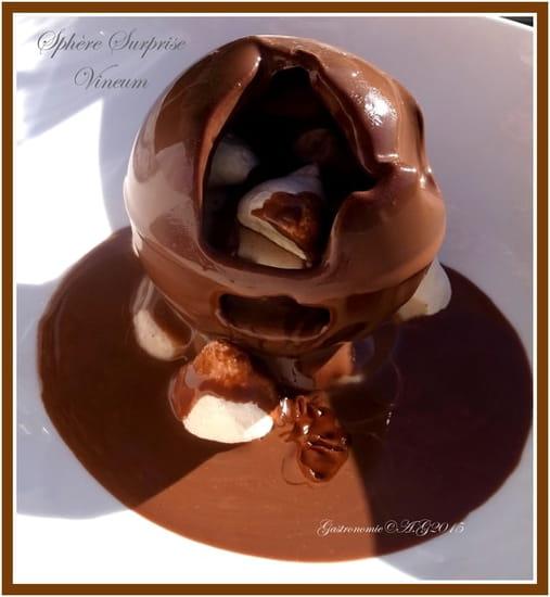 Vineum  - Sphère chocolaté châtaigne  -   © Couteau & Fourchette
